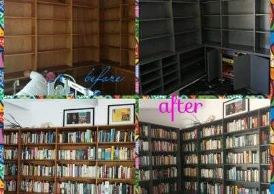 Bookshelf Before_and_after